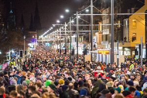 Up to 4000 Hogmanay revellers will be able to use the free tram service