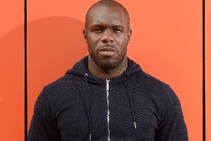 Christian Nade has left Stranraer via mutual consent. Picture: Neil Hanna