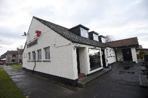 Salters Inn pub in Woodburn, Dalkeith where the landlord was fined �10,000 for showing sports using a domestic Sky box rather than a commercial one. Pic: Greg Macvean