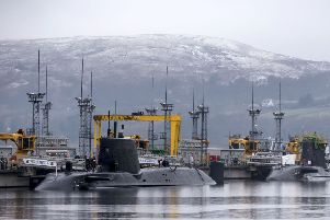 Replacing the Trident nuclear missile system will cost 205 billion pounds.   Picture: Danny Lawson/PA Wire.