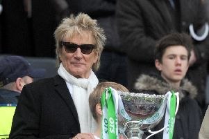 Rod Stewart will show Celtic's Old Firm victory at Glasgow gig