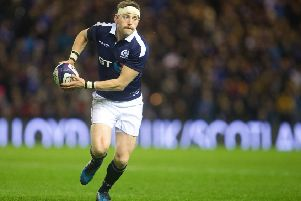The play of Scotland stand-off Finn Russell is reminiscent of illustrious predecessors Gregor Townsend and John Rutherford. Picture: SNS
