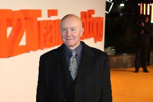 Irvine Welsh arriving at the world premiere of Trainspotting 2 at Cineworld in Edinburgh. Picture: Jane Barlow/PA Wire
