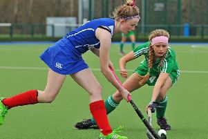 Dollar's Jenny Walls, left, is in the Scotland Under-18 squad.