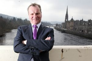 Pete Wishart faced criticism for the post (file photo)