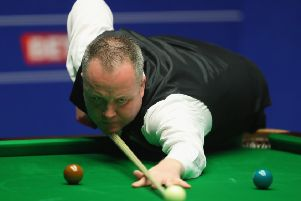 John Higgins has a three-frame lead over Mark Selby. Picture: Getty