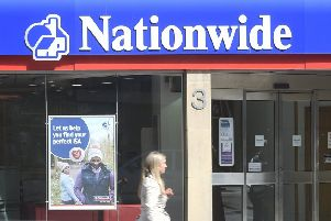 Nationwide is investing in its branches as rival lenders whittle down their networks. Picture: Greg Macvean