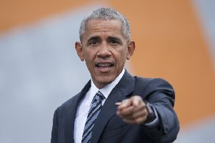 Barack Obama will be attending a charity dinner in Edinburgh today. Picture: Steffi Loos/Getty Images