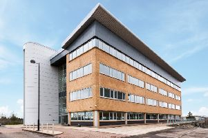 Nevis House at Hamilton International Business Park is among the offices acquired by Wirefox. Picture: Contributed