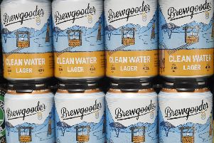 Brewgooder will now be stocked in more than 350 Asda stores across the UK. Picture: Greg Macvean