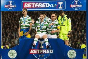 Celtic won last season's Betfred League Cup. Picture: Paul Devlin/SNS