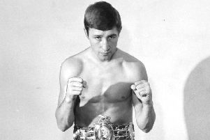 Ken Buchanan, former world lightweight champion.