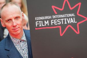 Ewan Bremner attended the opening film. Pictures: Ian Georgeson