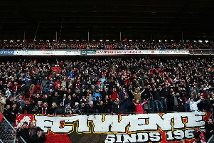 Around 500 FC Twente fans are expected to make the trip. Picture: Getty