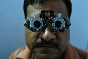 Diabetic retinopathy is a major problem in India. Picture: Chandan Khanna/AFP/Getty Images