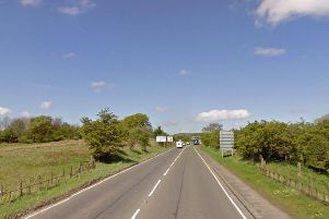 The fatal road crash occurred on the A73 at Newhouse. Picture: Google Maps