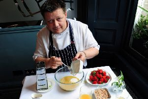Chef Mark Greenaway backed Edinburgh's bid to host the Pangborn Sensory Symposium. Picture: Ian Rutherford