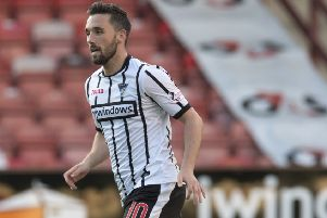 Nicky Clark hit a double in Dunfermline Athletic's defeat of Buckie Thistle. Picture: SNS/Craig Foy