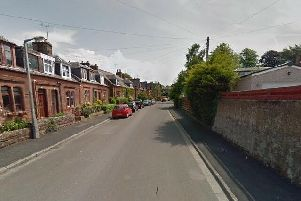 The break in was discovered at a house in Carnegie Street, Dumfries. Picture: Google