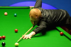 Anthony McGill said his first-round performance was 'so bad' that he should have lost . Picture: Getty.