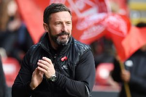 Is Derek McInnes headed for Ibrox? Picture: SNS Group