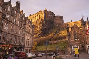 Edinburgh is a city famous for its monumental architecture and landmarks. Picture: Greater Grassmarket