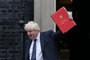 Johnson has left the Foreign Office facing a dilemma over relations with Iran. Photograph: Daniel Leal-Olivas/Getty