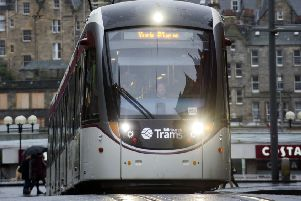 An Edinburgh Tram