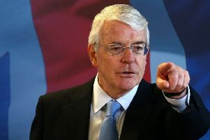 Former prime minister John Major was under no illusion that his cabinet contained a number of Eurosceptic zealots. Photograph: Getty Images