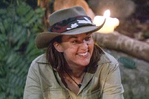 Kezia Dugdale in the Jungle. Photo by ITV/REX/Shutterstock