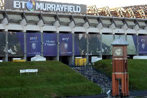 BT Murrayfield hosted the Scottish Schools Cup finals. Picture: Lisa Ferguson
