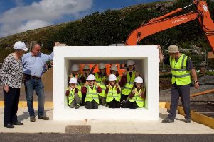 The Ulva Ferry Housing Project on  the Isle of Mull also won an award. Picture: SURF