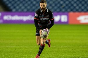 Sean Kennedy will start at scrum-half for Edinburgh against Krsasny Yar tonight. Picture: Ross Parker/SNS