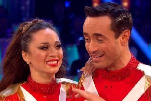 Joe McFadden and his dance partner Katya Jones were revealed as the Strictly winners live on BBC 1