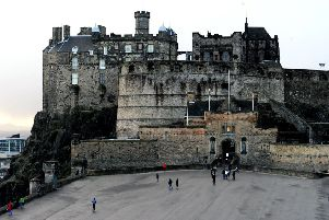 Edinburgh Castle boasts hundreds of years of history. Picture: Lisa Ferguson