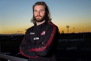 Edinburgh's Ben Toolis looks ahead to the European Challenge Cup game against Stade Francais. Picture: Bill Murray/SNS/SRU