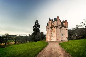 Craigievar Castle in Aberdeenshire was built during the death of the castle era, according to an expert. PIC: Neil Williamson/Creative Commons/Flickr