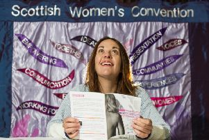 Kezia Dugdale addressed a Scottish Women's Convention conference. Picture: John Devlin