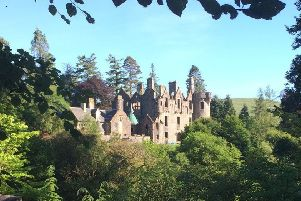 Picture: Dunans Castle, scottishlaird.co.uk