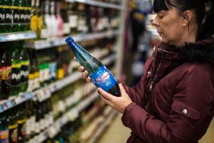 You might want to consider how much you've been drinking before buying some more (Picture: John Devlin)
