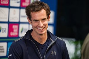 Andy Murray has agreed to temporarily share his mansions with bats. Picture: John Devlin/TSPL