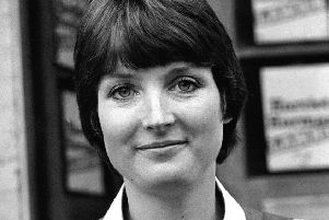 Harriet Harman, pictured on the campaign trail in 1982, recalled examples of sexual harrasment in her recdent autobiography. Picture: PA