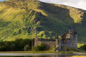 Kilchurn Castle on Loch Awe in Argyll is among the historic properties to benefit from the �40m investment pledge. PIC: Historic Environment Scotland