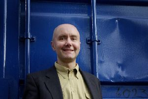 Trainspotting author Irvine Welsh