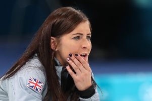 Great Britain skipper Eve Muirhead. Picture: AFP/Getty