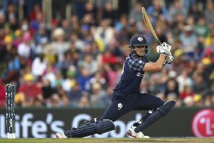 Calum MacLeod hit a stunning 157 as Scotland stunned Afganistan at the weekend. File picture: Getty Images