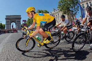 Sir Bradley Wiggins says he hopes to put his side across in response to drug claims. Picture: Getty