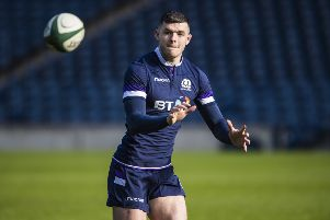 Scotland's Blair Kinghorn will be making his full debut. Picture: SNS