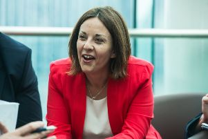 Kezia Dugdale in her role as former Scottish Labour Party leader