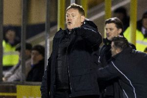 Livingston manager David Hopkin. Picture: Bruce White/SNS